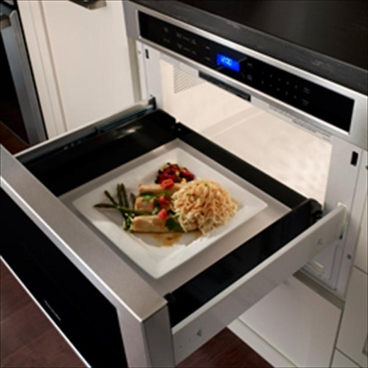 Md24js Thermador 24 Inch Built In Microdrawer 1 2 Cu Ft