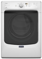 MED3100DW Maytag Maxima Front Load 7.4 cu. ft. High Efficiency Dryer with Large Capacity and Advanced Moisture Sensing - White