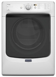 MED5100DW Maytag Maxima 7.4 cu. ft. Front Load Electric Dryer with Refresh Cycle with Steam - White