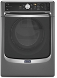 MED7100DC Maytag Maxima 7.4 cu. ft. Steam Electric Dryer with Large Capacity and Stainless Steel Dryer Drum - Slate