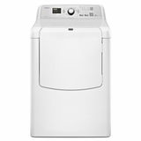 MEDB700BW Maytag 7.3 cu. ft. Bravos XL HE Electric Dryer with Advanced Moisture Sensing - White
