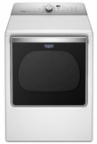 MEDB855DW Maytag Extra-Large Capacity 8.8 Cu. Ft. Electric Dryer with Advanced Moisture Sensing - White