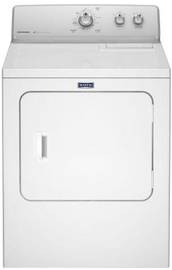 MEDC215EW Maytag 7.0 cu. ft. Electric Dryer with 15 Dryer Cycles - White
