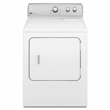 MEDC300BW Maytag 7.0 cu. ft. Centennial Electric Dryer with Wrinkle Control Option - White