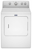 MEDC415EW Maytag 7.0 cu. ft. Large Capacity Electric Dryer with Wrinkle Control - White