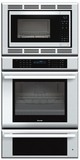 MEDMCW31JS Thermador 30 inch Masterpiece� Series Triple Oven (Oven, Convection Microwave and Warming Drawer) - Stainless Steel