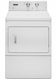 """MEDP475EW 27"""" Maytag Heritage Series 7.4 cu. ft. Capacity Front Load Electric Dryer with Sanitize Cycle and Wrinkle Care - White"""