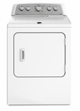 MEDX500BW Maytag  Bravos X 7.0 Cu Ft Electric Dryer - White on White