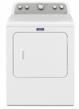 MEDX655DW Maytag Bravos Electric Dryer with 10 Year Parts & Labor Limited Warranty- White