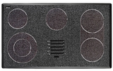 "METB3651BG Dacor Discovery 36"" Electric Glide Cooktop - Black Graphite"