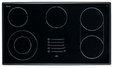 "METB3651SF Dacor Discovery 36"" Electric Glide Cooktop - Black with Satin Trim"