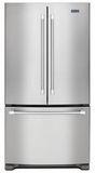 MFC2062DEM Maytag 20 cu. ft. 3-Door French Door Refrigerator with Counter Depth Styling - Stainless Steel