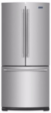 "MFF2055FRZ  Maytag 30"" French Door Refrigerator with BrightSeries LED Lighting and Humidity Controlled FreshLock - Stainless Steel"