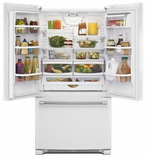French Door Refrigerator Maytag 22 Cu Ft French Door