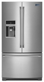 MFT2574DEM Maytag 25 cu. ft. Ice2O French Door Refrigerator with Better Built Compressor - Stainless Steel