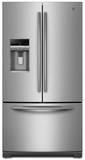 MFT2976AEM Maytag 29 cu. ft. Ice2O French Door Refrigerator with Cool Core Temperature Management - Stainless Steel
