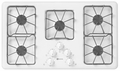 MGC4436BDW Maytag 36-inch Gas Cooktop with Two Power Cook Burners - White