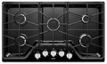 MGC7536DE Maytag 36-inch 5-burner Gas Cooktop with Power Burner - Black
