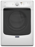 MGD3100DW Maytag Maxima Front Load High Efficiency Gas Dryer with Large Capacity and Advanced Moisture Sensing - White