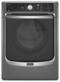 MGD7100DC Maytag Maxima 7.4 cu. ft. Steam Gas Dryer with Large Capacity and Stainless Steel Dryer Drum - Slate