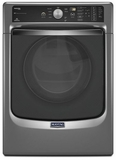 MGD8100DC Maytag Maxima 7.4 cu. ft. Front Load Steam Dryer with SoundGuard Stainless Steel Dryer Drum - Slate
