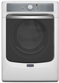 MGD8100DW Maytag Maxima 7.4 cu. ft. Front Load Steam Dryer with SoundGuard Stainless Steel Dryer Drum - White