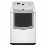 MGDB880BW Maytag 7.3 cu. ft. Bravos XL HE Gas Dryer with Window - White