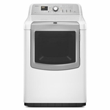 MGDB980BW Maytag 7.3 cu. ft. Bravos XL HE Gas Dryer with Reduce Static Option - White