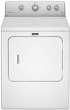MGDC415EW Maytag Extra Large Capacity Gas Dryer with Intellidry Sensor - White