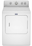 MGDC415EW Maytag 7.0 Cu. Ft. Large Capacity Gas Dryer with IntelliDry Sensor Technology - White