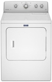 MGDC415EW Maytag Gas 7.0 Cu. Ft. Dryer with IntelliDry Sensor - White