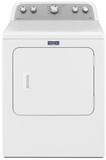 MEDX655DW Maytag Bravos Gas Dryer with 10 Year Parts & Labor Limited Warranty- White
