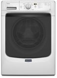 MHW3100DW Maytag Maxima 4.2 cu. ft. Front Load Washing Machine with Large Capacity and PowerWash� Cycle - White