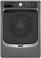 MHW4300DC Maytag Maxima High Efficiency Front Load Washer with Steam Option - Stainless Steel