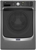 MHW4300DC Maytag Maxima High Efficiency Front Load Washer with Steam Option - Slate