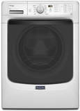 MHW4300DW Maytag Maxima High Efficiency Front Load Washer with Steam Option - White