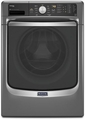 MHW7100DC Maytag Maxima 4.5 cu. ft. Front Load Steam Washer with Overnight Wash & Dry Cycle - Slate