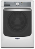MHW7100DW Maytag Maxima 4.5 cu. ft. Front Load Steam Washer with Overnight Wash & Dry Cycle - White