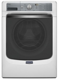 MHW8100DW Maytg Maxima 4.5 cu. ft. Front Load Washer with Steam and PowerWash� System - White
