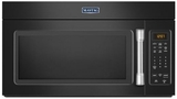 MMV1174DE Maytag 1.7 cu. ft. Compact Over-the-Range Microwave with Stainless Steel Handle - Black