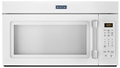 MMV1174DH Maytag 1.7 cu. ft. Compact Over-the-Range Microwave with Stainless Steel Handle - White