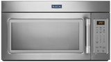 MMV1174DS Maytag 1.7 cu. ft. Compact Over-the-Range Microwave with Stainless Steel Handle - Stainless Steel