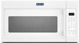 """MMV1174FW Maytag 30"""" 1.7 cu. ft. Capacity Over the Range Microwave with 1000 Cooking Watts and 300 CFM - White"""