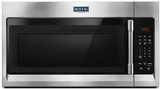 """MMV1174FZ Maytag 30"""" 1.7 cu. ft. Capacity Over the Range Microwave with 1000 Cooking Watts and 300 CFM - Fingerprint Resistant Stainless Steel"""