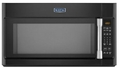 MMV4205DE Maytag 2.0 cu. ft. Over-the-Range Microwave with Sensor Cooking - Black with Stainless Steel Handle