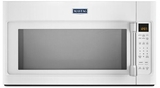 MMV4205DH Maytag 2.0 cu. ft. Over-the-Range Microwave with Sensor Cooking - White with Stainless Steel Handle