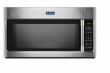 "MMV4205FZ 30"" Maytag 2.0 cu. ft. Over-the-Range Microwave with 400 CFM Venting System and Sensor Cooking - Fingerprint Resistant Stainless Steel"