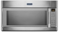MMV5219DS Maytag 2.1 cu. ft. Large Over-the-Range Microwave with WideGlide Tray - Stainless Steel