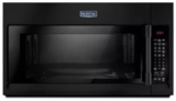 """MMV6190FB Maytag 30"""" 1.9 cu. ft. Capacity Over the Range Microwave Oven with 1000 Cooking Watts and Interior Cooking Rack - Black"""