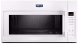 """MMV6190FW Maytag 30"""" 1.9 cu. ft. Capacity Over the Range Microwave Oven with 1000 Cooking Watts and Interior Cooking Rack - White"""